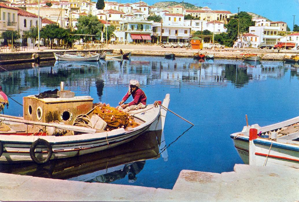 Ερμιόνη: το λιμάνι